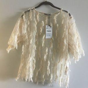 Beautiful, airy Zara top